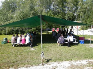Family Reunions at Lady Evelyn Lake